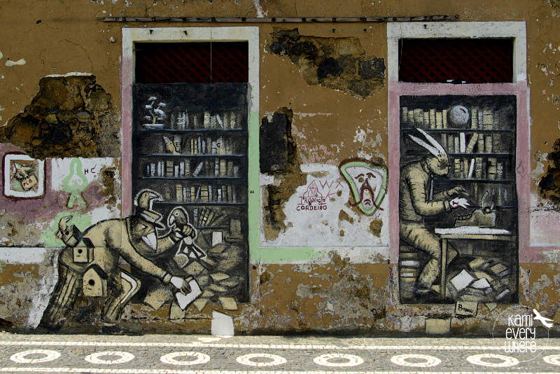 Ponta Delgada street art