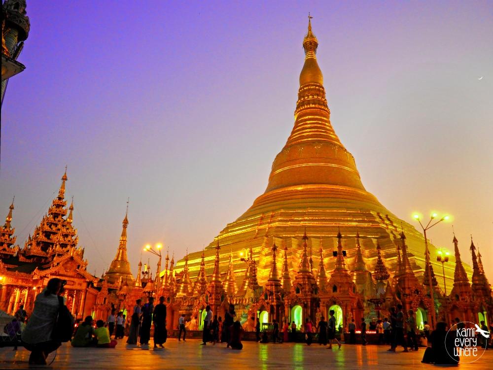Szwedagon Pagoda Rangun