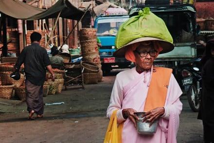 Birma targ w Mandalay