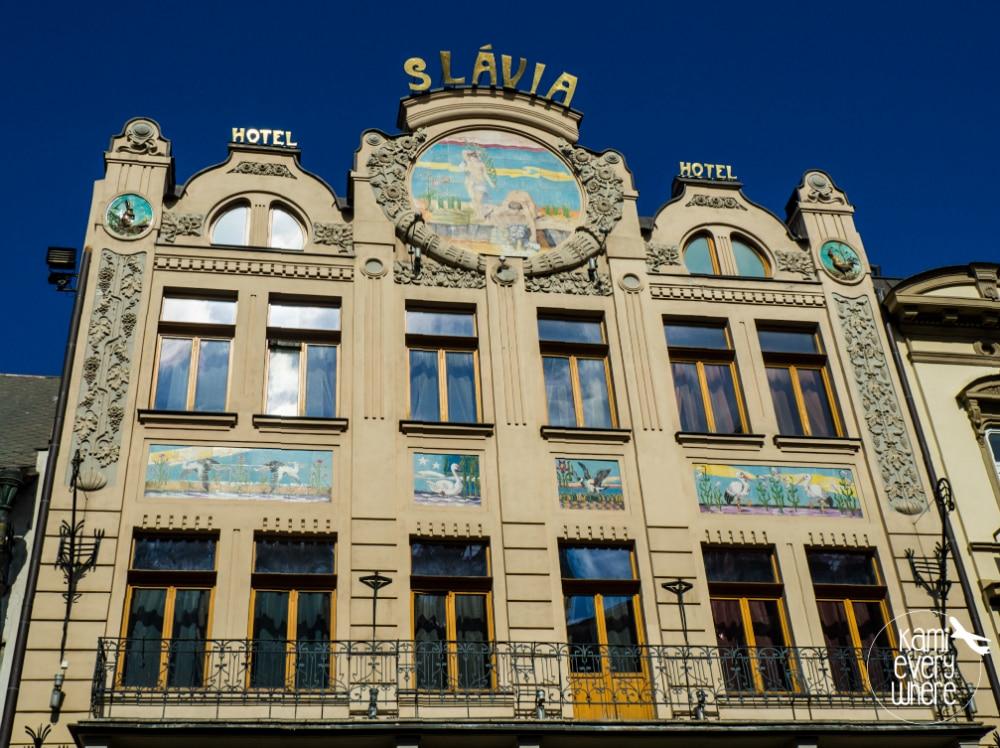 koszyce hotel slavia