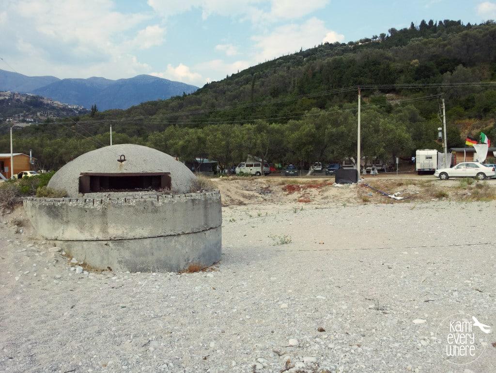 albania bunker beach